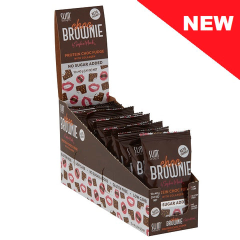 Choc Brownie - Protein Choc Fudge with Collagen
