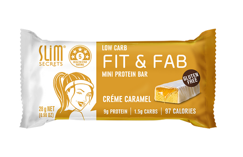 Low Carb Fit & Fab Creme Caramel Bar