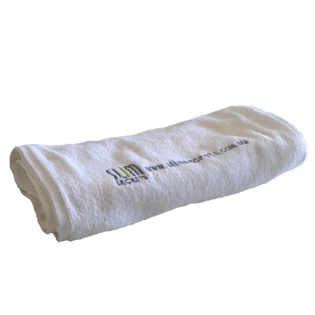 Slim Secrets Sports Towel With Zip Pocket - Slim Secrets