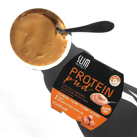 Protein Pud with Chia - Salted Caramel
