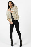 Vintage 80s Gold Sequined Windbreaker Sz M