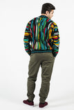 Vintage Coogi Pre-1987 Multi-Color Knit Sweater Sz M