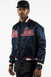 Vintage 90s Satin Starter Chicago White Sox Jacket Sz M