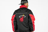 Vintage 90s Reversible Miami Heat Jacket Sz M