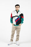 Vintage 90s Adidas Multi Color Track Jacket Sz M