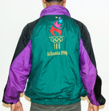 Vintage 1996 Olympic Windbreaker Sz XL