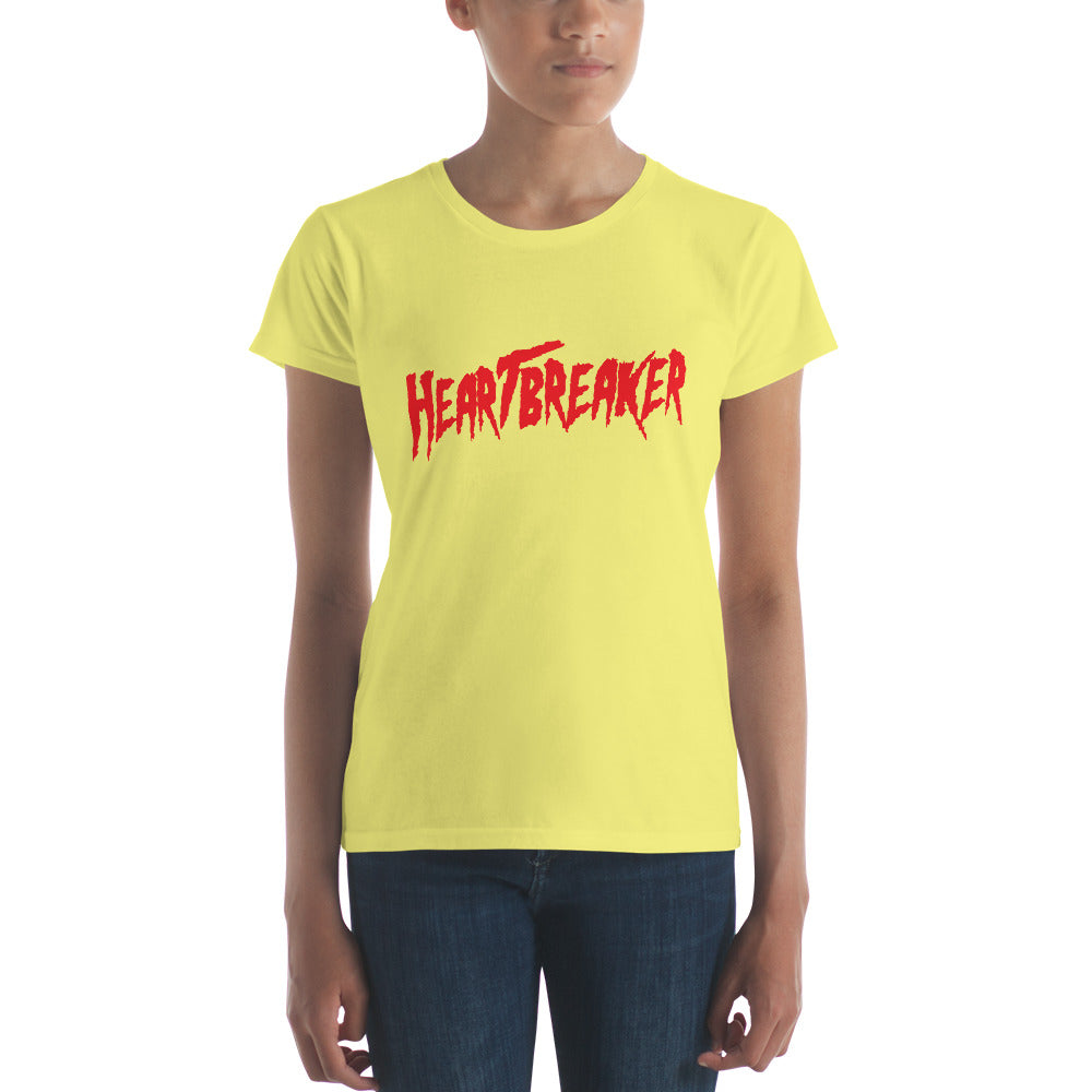 "Heartbreaker ""Hogan"" Font Women's short sleeve t-shirt"