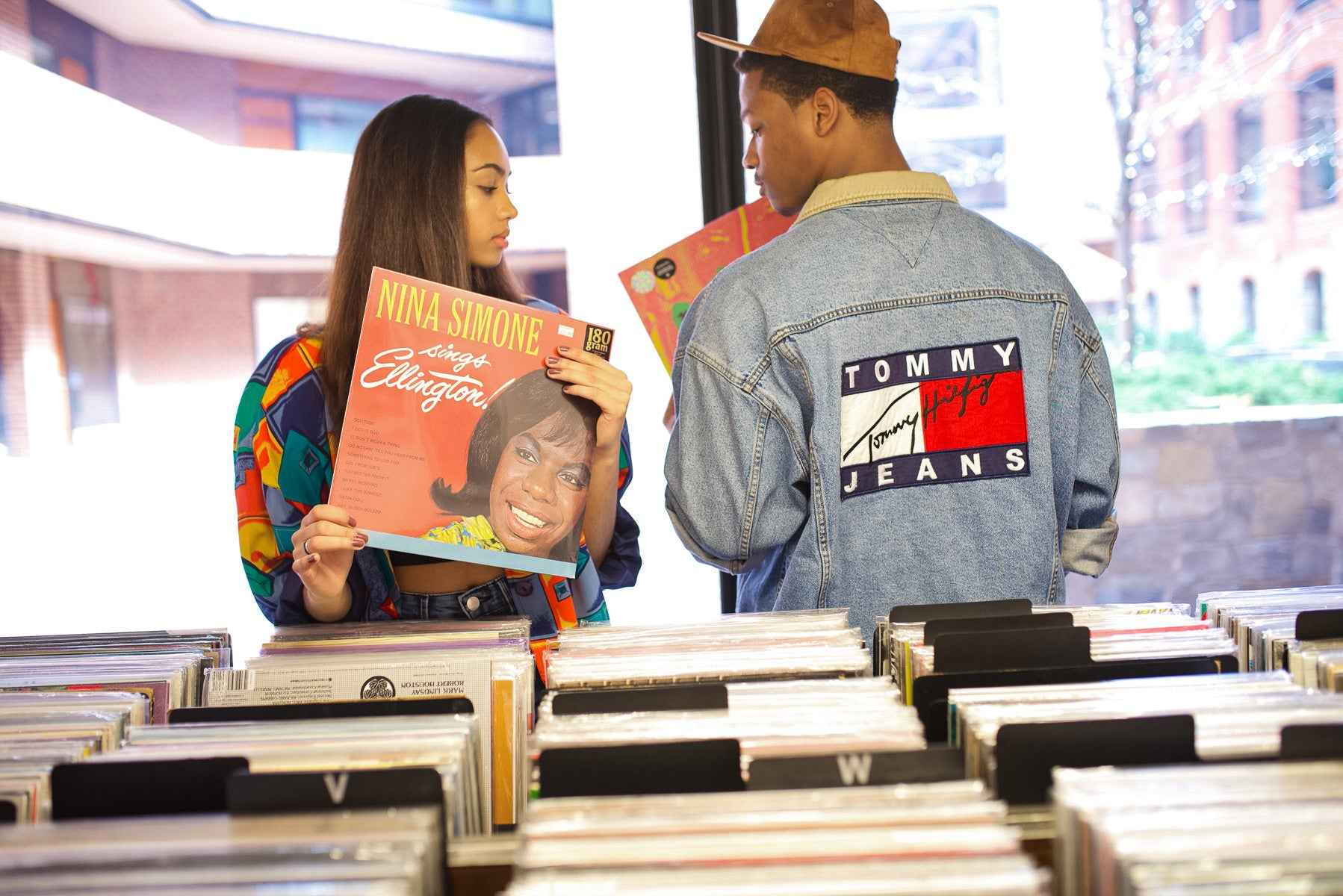 Men and women's vintage 80s and 90s clothes
