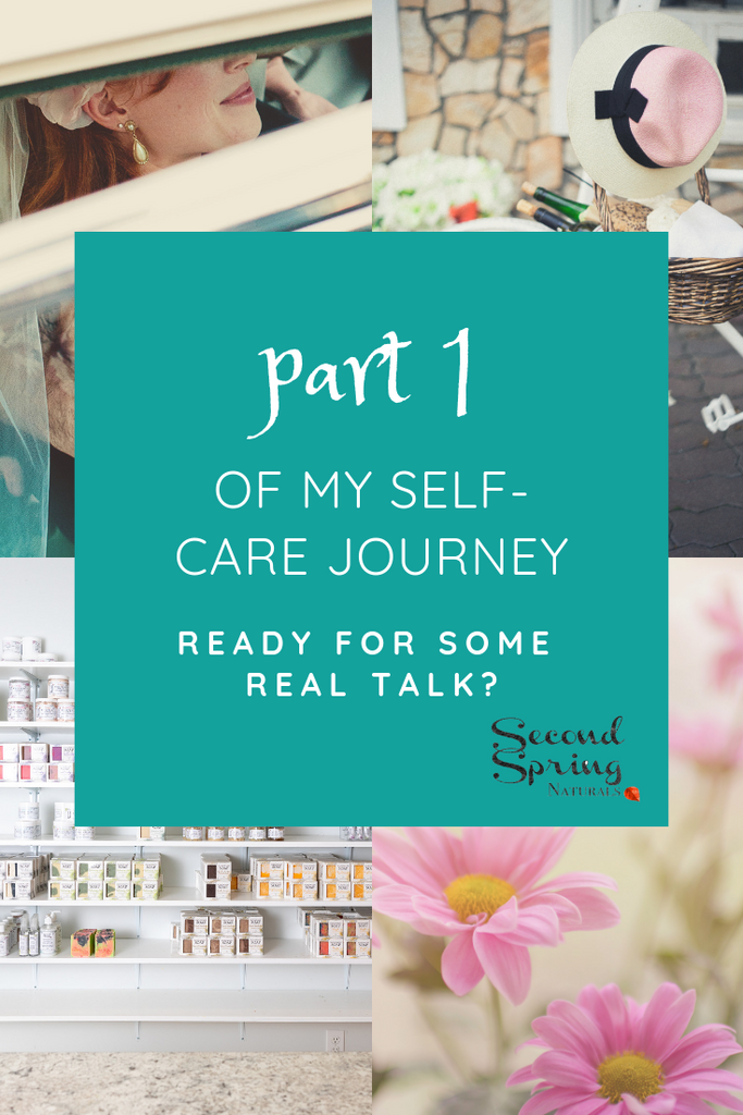 Real talk about my self care journey