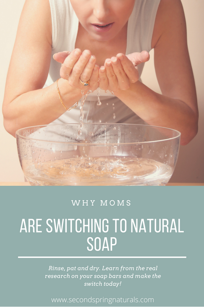 Why Moms are Opting for Natural Soaps