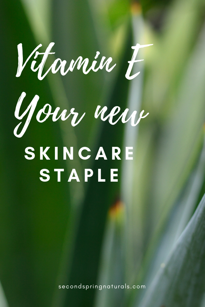 Vitamin E and Why Your Skin Craves It