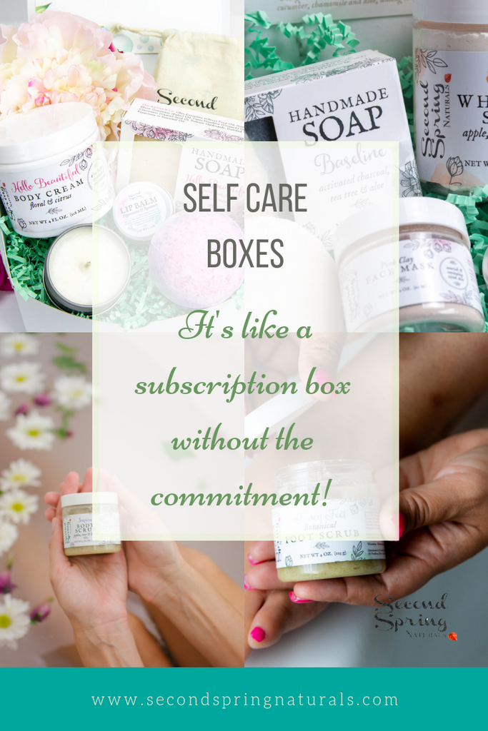 Monthly Self Care Boxes Are Here