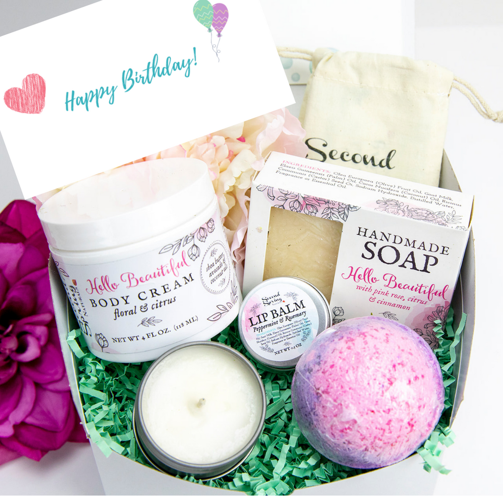 Birthday Gift Set - Customize Your Scent