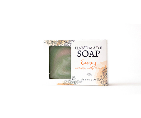 Energy Handmade Soap - Apple Mango Lime