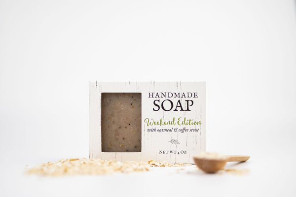 Oatmeal Coffee Stout Soap- Weekend Edition