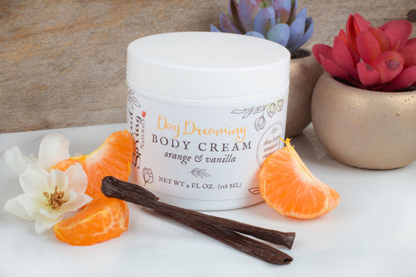 Orange Vanilla Body Cream