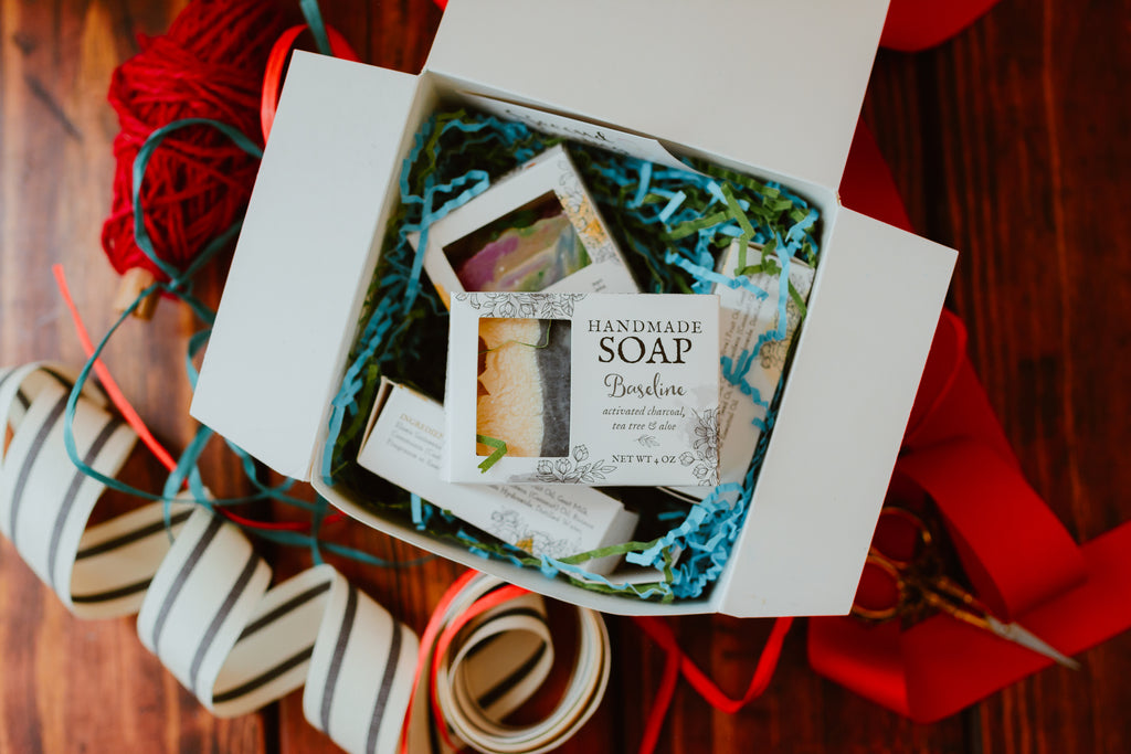 Christmas Gift Box - Favorite Soaps