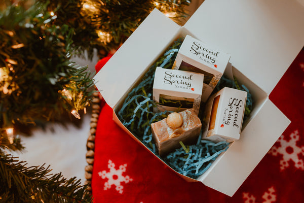 Christmas Gift Box - Holiday Soaps