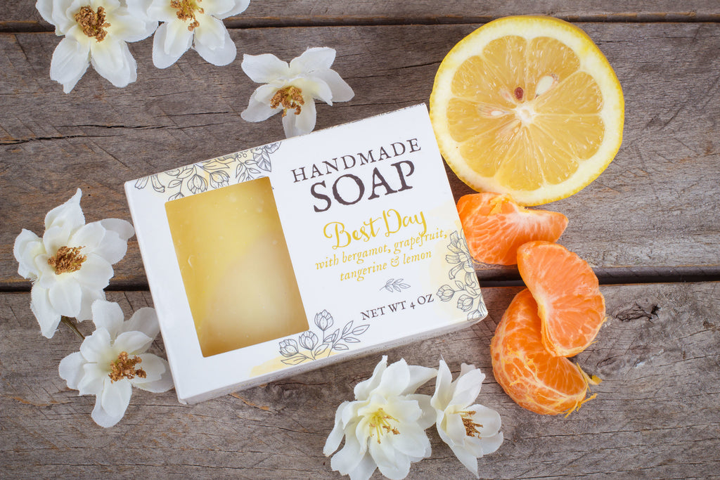 bergamot grapefruit soap