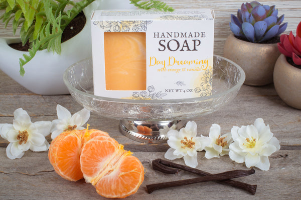 orange vanilla moisturizing soap