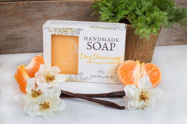 moisturizing orange cream soap