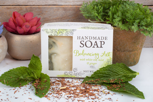 White tea ginger moisturizing soap