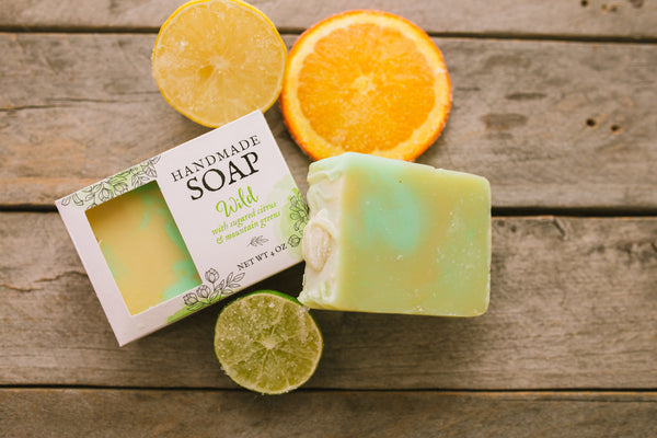 Wild Soap - Sugared Citrus and Mountain Greens