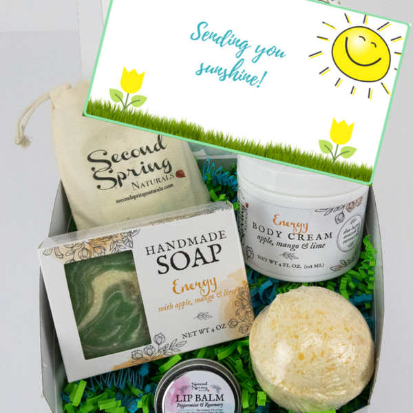 Sunshine Gift Box -  Customize with your Scent