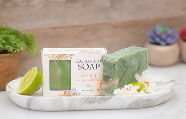 fruity natural soap with goat milk