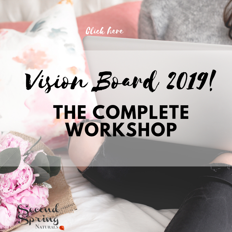 Vision Board + Goal Setting Package