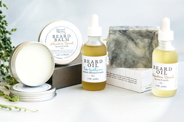 Christmas Beard Care Kit for Men