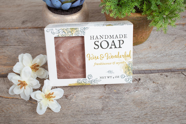 Wise & Wonderful Soap - Frankincense & Myrrh