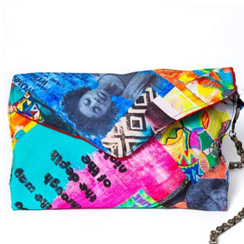Clare Elliott Art Clutch