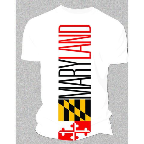 Maryland T-Shirt-White