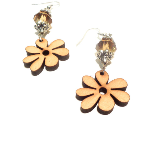Sand Flower Earring