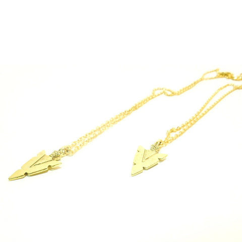 Arrow Necklace-Gold
