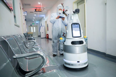 Disinfecting and other ROBOTS!!!