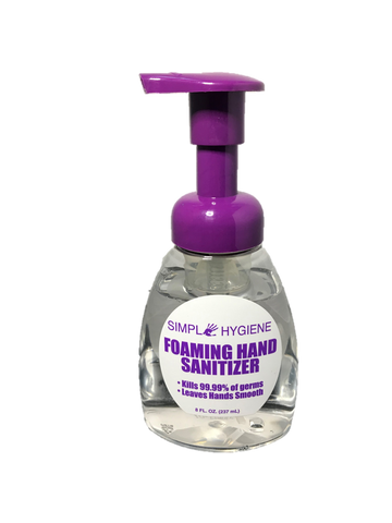 Foaming Alcohol Hand Sanitizer, Bottles or Case