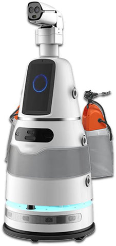Detect and Disinfect Robot (Advanced Version)