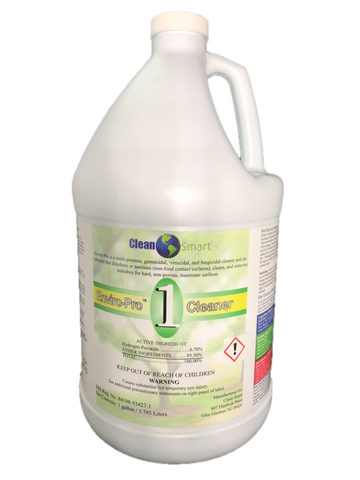 EnviroPro EPA Registered Disinfectant, Fungicidal, Virucidal, Sanitizer (Concentrate)