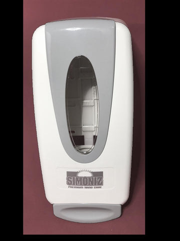 White Dispenser for Alcohol and Non-Alcohol Foaming Sanitizer