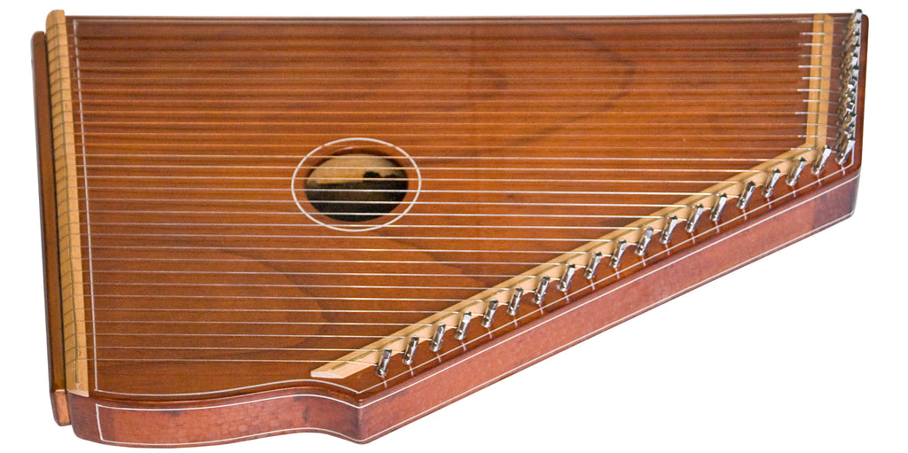 Monoj K Sardar MKS Swarmandal - Natural Colour - 30 Strings, 21 Inches (SM-DID)