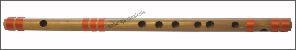 SANSKRITI MUSICALS Flutes - Bansuri D Sharp Medium 16.5 inches - CFF
