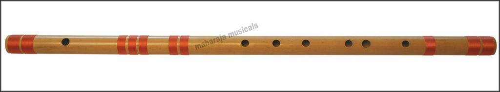 SANSKRITI MUSICALS Flutes - Bansuri E Natural Medium 16 inches - CFH
