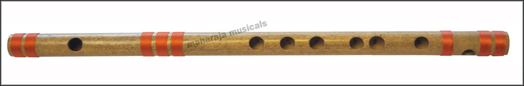 SANSKRITI MUSICALS Flutes - Bansuri F Sharp Medium 13.7 inches - CGB