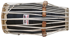 Vijay Vhatkar Pakhawaj, Concert Quality, Sheesham Wood, Tuneable to C Sharp or D Sharp, Nylon Bag, Bhajans, Kirtans, Drumhead Covers, Pakhavaj/Pakhwaj/Pakhvj, Pakhawaj Drum Indian (SM-EJA)