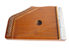SANSKRITI MUSICALS Indian Swarmandal - Teak Color - 36 Strings - AAC