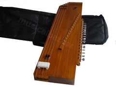 SANSKRITI MUSICALS Swarmandal + Tanpura 2 in 1 - High Quality - AAJ