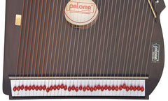 PALOMA Swarmandal Dark Color - Tun Wood Swarmandal For Sale (SM-BJE)
