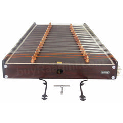 PALOM Indian Santoor/Santur Professional - Solid Wood - 31 Notes - 93 Strings (SM-BJG)